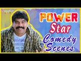 Powerstar Srinivasan Latest Comedy Scenes   Back To Back Comedy   Santhanam   Kovai Sarala