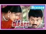 Vaseegara Tamil Movie | Scenes | Sneha asks Vijay to marry her | Sneha warns Vijay