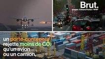 Voici l'impact du transport maritime sur l'environnement