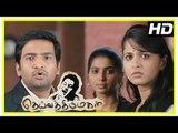 Deiva Thirumagal Tamil movie | scenes | M S Bhaskar supports Vikram in court | Anushka | Nassar