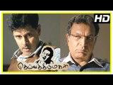 Deiva Thirumagal Tamil movie | scenes | Vikram missing | Nassar produces Vikram in court | Anushka