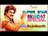 Top 8 Superstar Rajinikanth Hits   Back to Back Tamil Video Songs   Rajini Hits   #HBDRajinikanth
