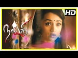 Nayaki Tamil Movie Scenes   Satyam Rajesh realise Trisha, Manobala and Kovai Sarala are ghosts