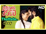 Sathura Adi 3500 Movie Scenes | Thottuta Song | Akash reveals truth to Nikhil | Iniya