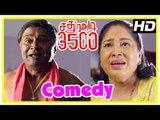 Sathura Adi 3500 Movie Scenes | Nikhil starts inquiry | MS Baskar reveals seeing Akash's spirit