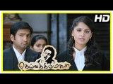 Vikram Latest Tamil Movie | Deiva Thirumagal Emotional Scene | Vikram is unable to meet Baby Sara
