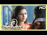 Vikram Latest Tamil Movie | Deiva Thirumagal Movie Scenes | Amala Paul meets Baby Sara | Vikram