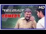 Tamil Comedy Scenes | Indrajith Tamil Movie Comedy Scenes | Gautham Karthik | MS Bhaskar