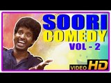 Soori Comedy Scenes   Vol  02   Jayam Ravi   Vishnu   Robo Shankar   Trisha   Anjali   Tamil Comedy