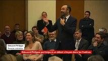 """""""Le RIC me hérisse"""" : Edouard Philippe dit son opposition au référendum d'initiative citoyenne lors d'un débat dans les Yvelines"""