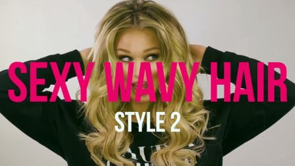 How to Give Yourself a Sexy Wavy Hairstyle