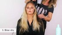 Hair Tutorial Inspired by Victoria's Secret Angel Erin Heatherton