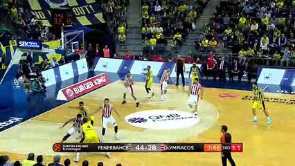 EuroLeague 2018-19 Highlights Regular Season Round 20 video: Fenerbahce 90-75 Olympiacos