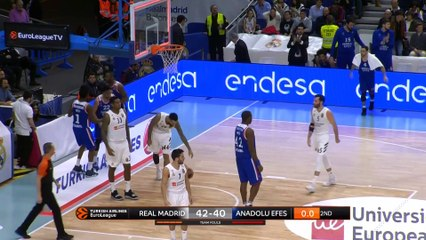 EuroLeague 2018-19 Highlights Regular Season Round 20 video: Madrid 92-84 Efes