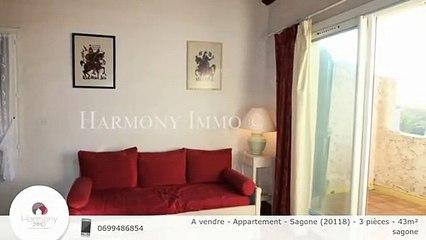 A vendre - Appartement - Sagone (20118) - 3 pièces - 43m²