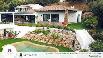 A vendre - Maison/villa - Les issambres (83380) - 6 pièces - 260m²