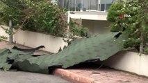 Antalya'da Şiddetli Fırtına Dev Dalgalar Oluşturdu