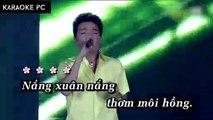 Karaoke Dịu Dàng Sắc Xuân - Đàm Vĩnh Hưng