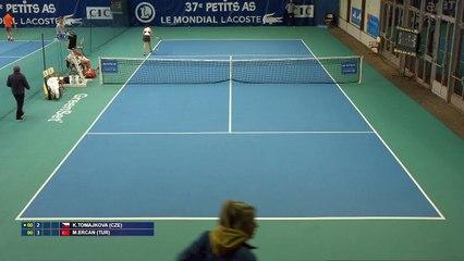 Takaki vs Toper & Israelan vs Petr & Tomajkovs vs Ercan & Radijovevic vs Rowinska -  Les Petits As 2019 - Court 2