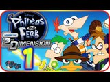 Phineas and Ferb: Across the 2nd Dimension Walkthrough Part 1 (PS3, Wii, PSP) Gelatin Dimension