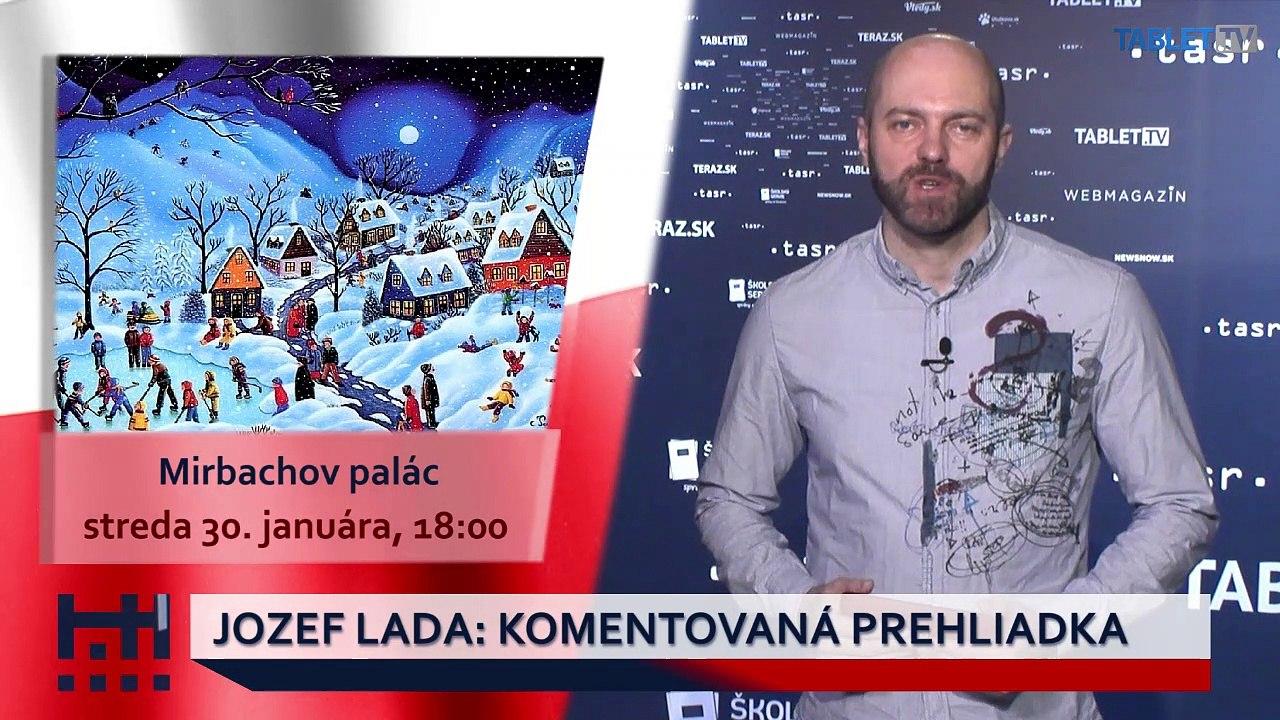 POĎ VON: Tančiareň a komentovaná prehliadka Jozef Lada