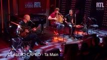 Claudio Capéo - Ta Main (Live) - Le Grand Studio RTL