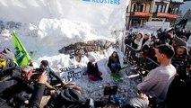 Manifestations et slogans anti-capitalistes au Forum de Davos
