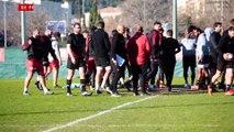 Conférence de presse d'avant-match J15 Toulon-Paris