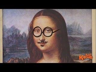 Mona Lisa VANDALIZED Prank