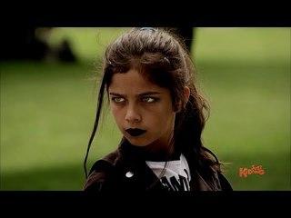Scary Girl Throws Pie for REVENGE