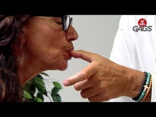 Woman Actually Licks the Chef's Fingers