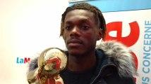 Jordan Lomba, Ballon d'Or de La Meuse, remercie ses supporters
