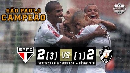 São Paulo 2 (3 x 1) 2 Vasco - Melhores Momentos + Pênaltis (HD) Copa São Paulo 25/01/2019