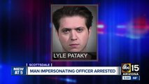 Valley man busted for impersonating cop
