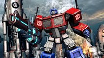Transformers Fall of Cybertron - Gameplay Walkthrough - Part 4 - Chapter 4 Eye of the Storm (PS3)