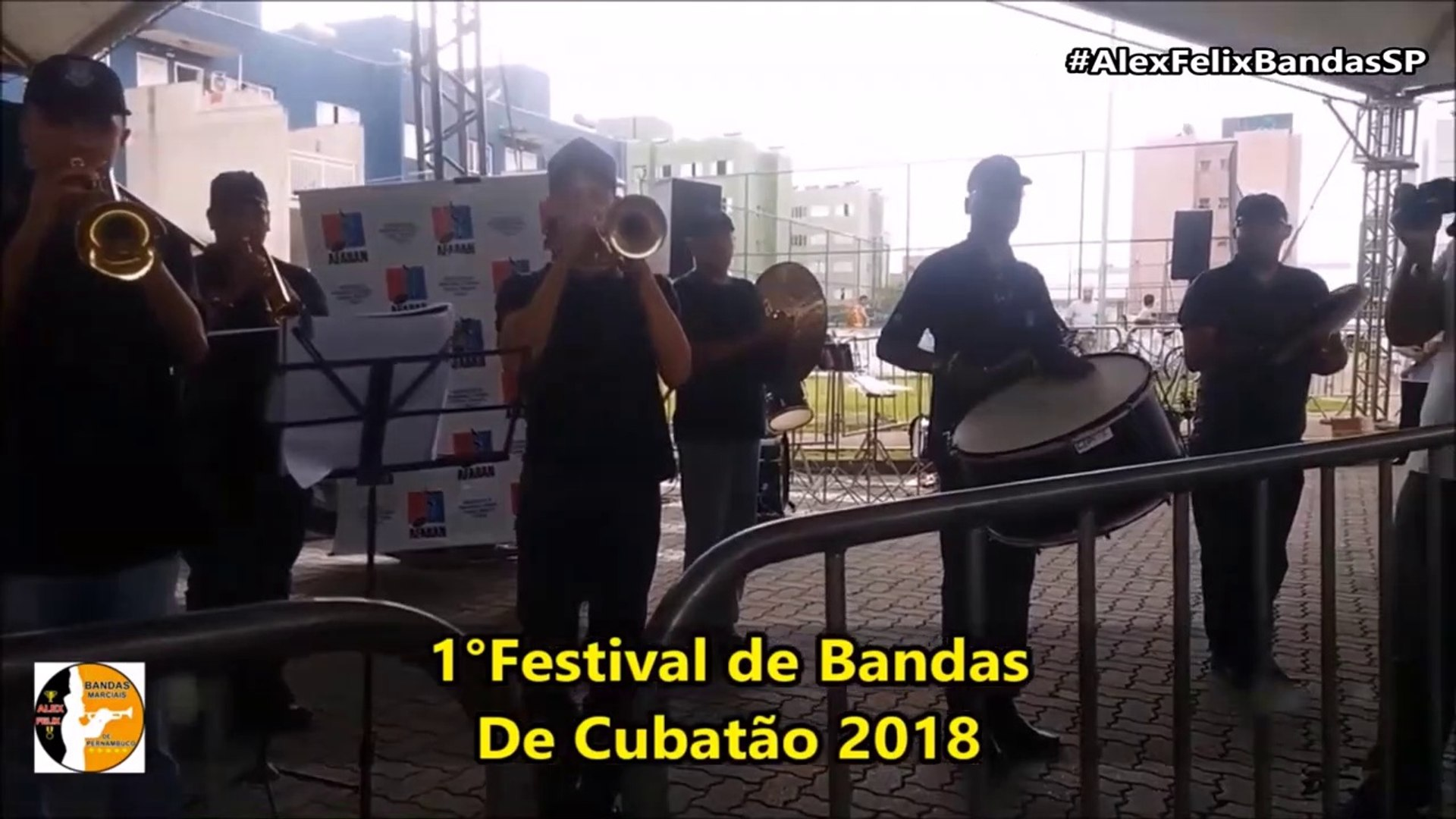 Banda Musical da Reserva Militar da Baixada Santista 2018 - 1° Festival de Bandas - Cubatão