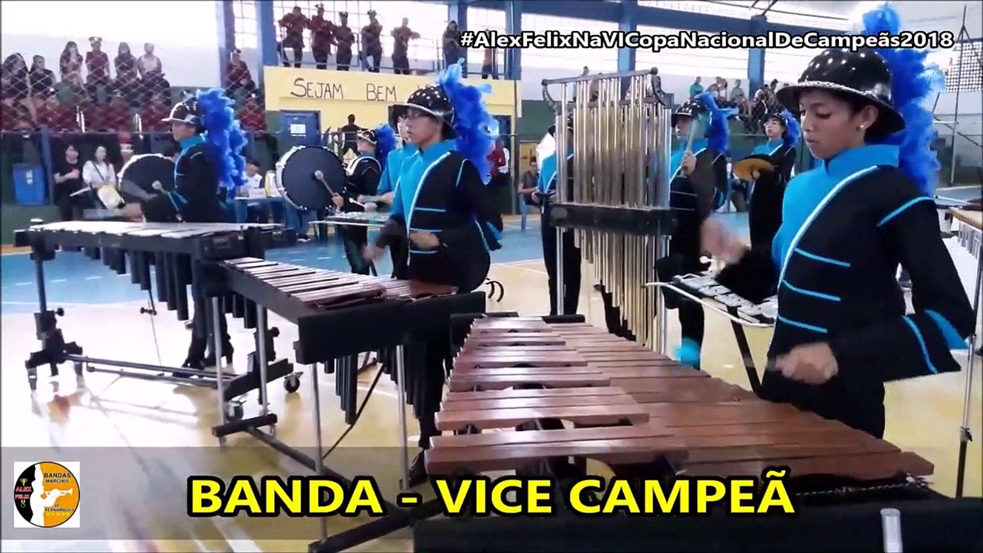 Resultado Banda De Percussão Juvenil e Percussão Master 2018 - VI Copa Nacional De Campeãs De Bandas