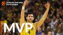 Turkish Airlines EuroLeague Regular Season Round 20 MVP: Angelo Caloiaro, Maccabi FOX Tel Aviv