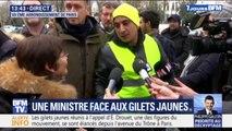 """Un gilet jaune interpelle Annick Girardin: """"On ne vous demande pas de faire des discours de 7 heures, les Français ont faim"""""""