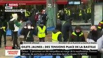 Gilets Jaunes : Incidents Place de la Bastille le samedi 26 janvier 2019