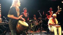 Isabelle GUIDON Percussionniste solo percussions Afrobeat Jazz djembe