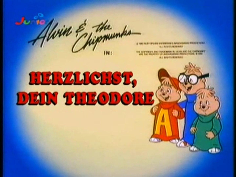 Alvin und die Chipmunks - 52. Herzlichst, Dein Theodore / Eine lebendige  Mumie