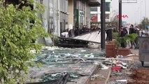 Antalya Hortum İş Yerlerine Zarar Verdi