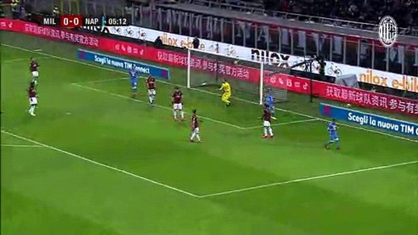 Milan e Napoli si annullano: a San Siro è 0-0