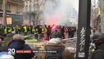 Gilets jaunes : Jérôme Rodriguez est gravement blessé à l'oeil lors de la manifestation Place de la Bastille