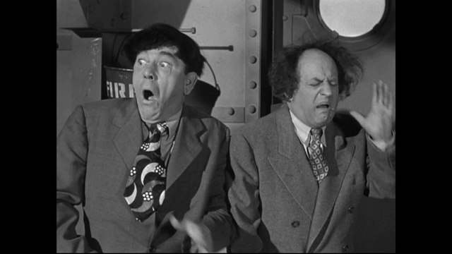 The Three Stooges Dunked in the Deep E120  Classic Comedy