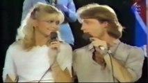 Andy Gibb, Elton John, Olivia newton John and Cliff Richard in Live Oh, Boy!