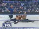 wwe Smackdown 04/01/08 part 8 edge vs rey mysterio