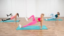 Everything Gets Worked in This No-Equipment Cardio and Sculpting Workout
