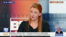 """Ingrid Levavasseur: """"Je suis une citoyenne, gilet jaune depuis toujours. Je n'ai trahi personne"""""""